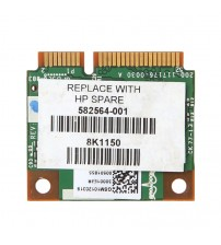 1 Set For HP BCM943224HMS Wireless Dual Band 802.11 a/g/n Half Mini PCI-E WiFi Card New