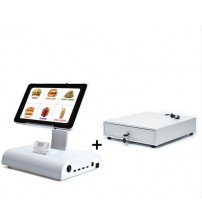 10 Inch Touch POS Machine with Integrated MSR