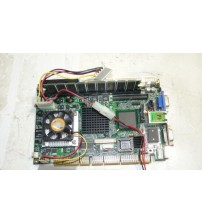 100% OK Original Embedded IPC Board HS-870P Industrial motherboard Half-Size CPU Card PCISA Bus Mainboard with CPU RAM