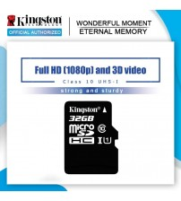100% Original Kingston Micro SD card 16GB 32GB 64GB MicroSD Memory Card Class10 TF Card MicroSDHC UHS-1 for Smartphone