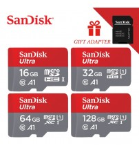 100% Original Sandisk micro sd card Class10 TF card16gb 32gb 64gb 128gb 80Mb/s memory card for smartphone and table PC