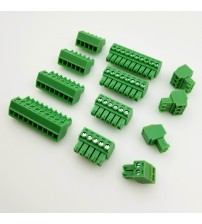 100 Sets KF2EDGK + KF2EDGV or KF2EDGR 3.5/3.81mm 300V 8A Pluggable Terminal Blocks 2P 3P