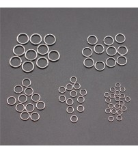 100pcs Stainless Steel Jump Rings & Split Ring For Jewelry Making DIY Jewelry Findings Jewelry Accessories 3mm 4mm 5mm 6mm 7mm