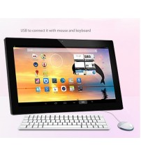 10.1 Inch all in one pc Intel J1900 quad Core capacitive touch screen computer with fan cooling design