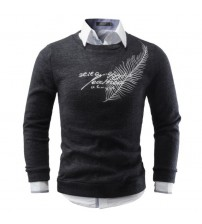 Brand Round Neck Fashion Pullovers Sweaters