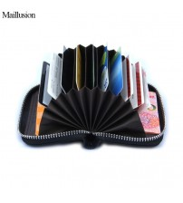 Genuine Leather Women Card Holder Wallets