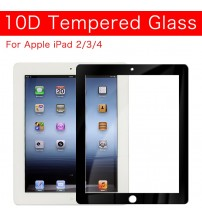 10D Protective Glass Tempered Glass i pad For ipad2 ipad3 ipad4 Screen Protector Protection Glass Film For Apple iPad 2 3 4 9.7'