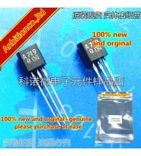 10pcs 100% new and orginal 2SA719 A719 TO-92 Silicon PNP epitaxial planer type in stock