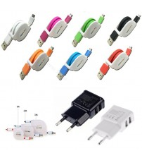 1M/2M/3M Retractable Micro USB Cable