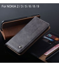 Luxury Leather Flip cover Stand Card