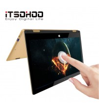 11.6 inch touchscreen convertible tablet laptop iTSOHOO 360 degree rotating laptops  intel   Notebook computer