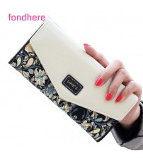 Fondhere Wallet Female PU Leather