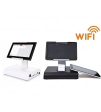 12 inch mini touch pos system from factory , all in one touch screen pos with