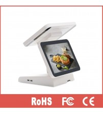 12 inch pos system dual display all in one touch screen pos retail pos for supermarket