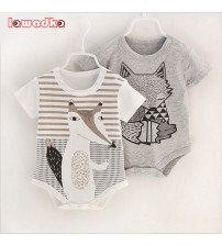 100%Cotton Short Sleeve  Baby Rompers