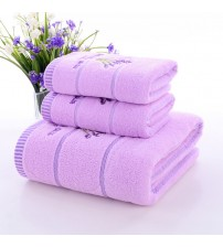 3PCS/Set Lavender Towel