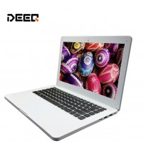 13.3 inch laptop 8G ram 500GHDD and 64gSSD windows 10 system  built in camera with Expandable hard drive send mouse