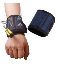 JB- Magnetic Wristband Pocket Tool Belt Pouch Bag