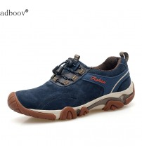 Men's Cow Muscle Sole Shoes Top Pig Leather