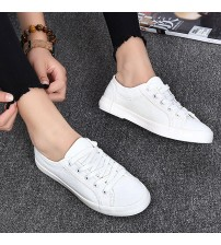 Fashion Casual Women's Vulcanize Shoes Lace Up