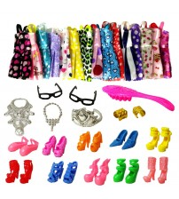 12 Pcs Beautiful Barbie Doll Accessories