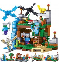 378 Pcs 4 in 1 Mine crafted Building Blocks