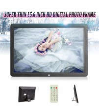 "15"" LCD digitale foto Frame foto 1080P MP4 Movie MP3 Player telecomando HD Fast"