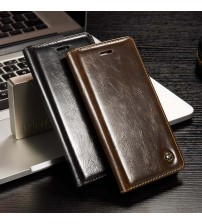 Magnetic Auto Flip Wallet Cover