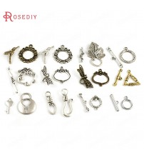 (18172)Wholesale Zinc Alloy OT Bracelet Toggle Clasps Diy Jewelry Findings Accessories More styles can picked