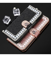 Luxury Pearl Leather Case