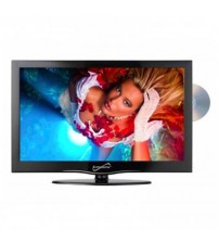 19 in. Widescreen LED HDTV with Built-in DVD Player