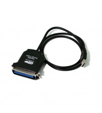 1M USB 2.0 To Parallel IEEE 1284 36 Pin Centronics Printer Cable Adaptor Lead