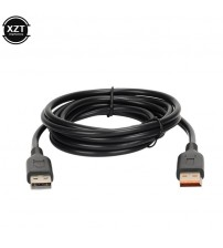 1pcs 2M USB Charger Data Cable Power Adapter Supply Charging Line for Lenovo yoga 3, pro yoga 4 Laptop Hot Sale