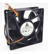 1pcs AFB1212SHE 12038 12cm 1.6A 12v 4wire PWM 40cm long line of fan for Delta 120*120*38mm