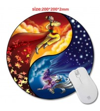 200*220*2mm DIY Round Rubber Gaming Mouse Mat Custom Your Styles High Quality Non-slip and Durable Computer and Laptop Mouse Pad