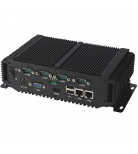 2019 Hot Sale Fanless Embedded Industrial Mini PC With Intel Atom D2550 Dual Core Processor computer Support XP/Win7 Win 10 OS