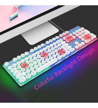 2019 New Arrival DIY key cap Retro steam punk typewriter mechanical keyboard keycap 104 keys for gaming gamer keyboard key cap