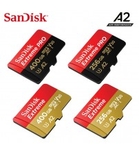 2019 New SanDisk Extreme/PRO UHS-I micro sd card 400G 256G 128G 64G Up to 160MB/s read speed Class10, V30, U3, A2 memory card