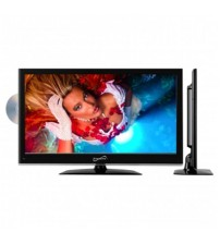 22 in. Widescreen LED HDTV with Built-in DVD Player