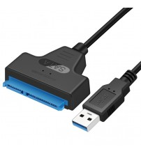 2.5 Inch External Hard Drive Converter 5Gbps USB 3.0 to SATA III Adapter Cable Support UASP For 2.5\