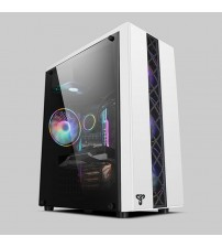 35*18*42CM DIY Gaming Computer case with fans water cooling Acrylic PC chassis Side transparent gabinete gamer computadora ATX