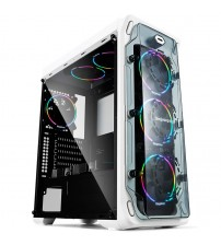 465*205*502mm DIY Gaming Computer PC Case Acrylic Full-side Transparent ATX Vertical Water Cooling Chassis gabinete computador