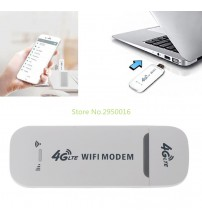4G LTE USB Modem Network Adapter With WiFi Hotspot SIM Card 4G Wireless Mini Router For Win XP Vista 7/10 Mac 10.4 IOS New C26