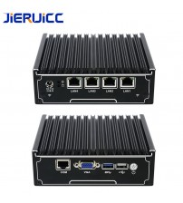 4lan firewall mini pc/vpn router JIERUICC JC4L 4 INTEL 82583V 1000M LAN intel celeron j1900 quad-core 2.41Ghz quad-core CPU