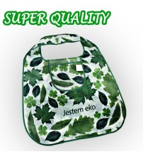 Green Leaf Shopping Bag