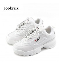 Jookrrix Lady Casual White Shoes Sneaker