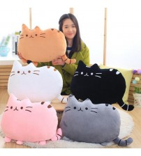 Kawaii Biscuits Cat Pillow Plush Cushion