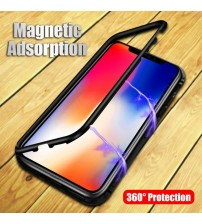 iPhone X Magnetic Adsorption Metal Cases