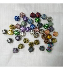 Digital Metal Game Dice