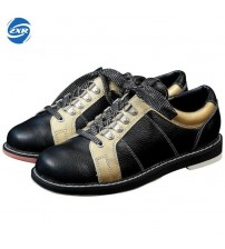 Leather Men Bowling Shoes